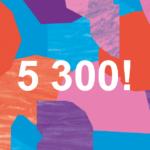 5300 personer